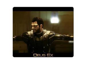 "mousemats cloth rubber smooth surface Customized Deus Ex Human Revolution 9"" x 10"""