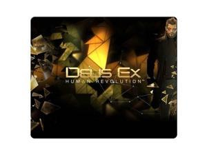 "mousemats cloth / rubber Rough Standard Deus Ex Human Revolution 8"" x 9"""
