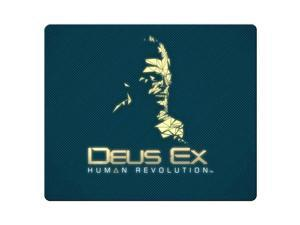 """gaming mouse mat cloth and rubber Comfortable mouse Deus Ex Human Revolution 9"""" x 10"""""""