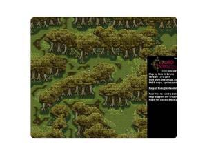 "Game mousemats rubber cloth Computer Oblong Chrono Trigger 9"" x 10"""
