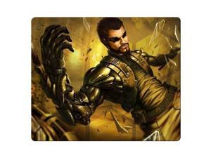 """gaming mouse mats cloth and rubber Designed for gamers Stable Deus Ex Human Revolution 9"""" x 10"""""""