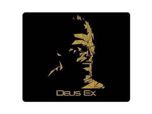 "mousemat rubber + cloth Natural Ultra-smooth Deus Ex Human Revolution 8"" x 9"""