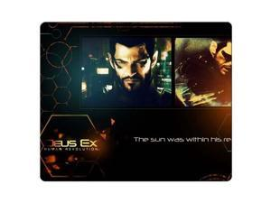 "Mousepads cloth rubber Durable Material Custom Pattern Deus Ex Human Revolution 9"" x 10"""