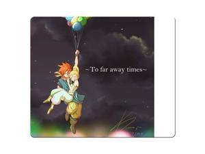 "Gaming Mouse Pads rubber and cloth cloth surface Custom Chrono Trigger 8"" x 9"""
