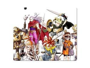 "Gaming Mouse Pads rubber - cloth easy movement cloth cover Chrono Trigger 8"" x 9"""