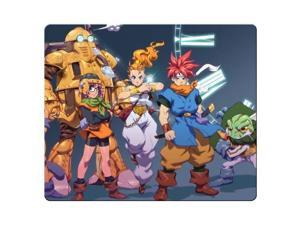 "game mousemat cloth + rubber Rubber Backing Perfect Chrono Trigger 10"" x 11"""