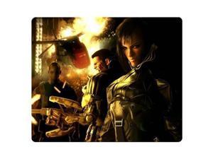 "gaming mousepad rubber * cloth Eco Friendly Standard Deus Ex Human Revolution 9"" x 10"""