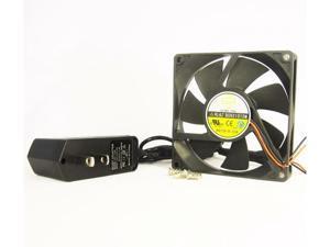 Lovely 92mm 15mm AC Fan 110V 115V 120V AC Cooling Kit Ball Bearing Cabinet 1317A