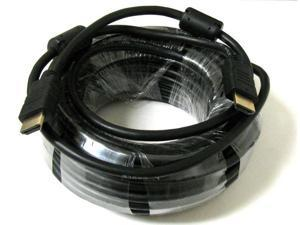 30 FT 30' Ft High Speed HDMI Ethernet M/M 3D Cable 1080p HDTV PS3 xBox DVD M-M