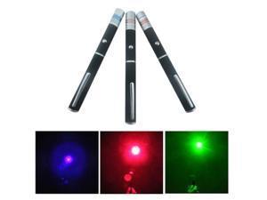 High Power 5mw 3 Color Red + Green + Blue Purple Laser Pointer Pen Beam Light