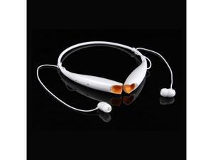 Bluetooth Wireless Sports Stereo Headset for iPhone HTC Samsung Galaxy S5 Note 5 / WHITE