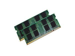4GB 2 x 2GB PC2-6400 DDR2 PC6400 800MHz LAPTOP NOTEBOOK SODIMM 4GB RAM