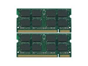 2GB (2x1GB) RAM Memory DDR2 Dell Latitude D531