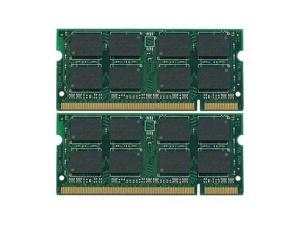 4GB (2X2GB) DDR2-800 SODIMM Gateway LT Series Laptop Memory PC2-6400