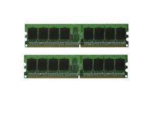 4GB DDR2 PC5300 PC2-5300 667 Mhz LOW DENSITY Desktop Memory 2x 2GB RAM