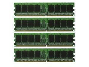 8GB (4x2GB) PC2-5300 DDR2-667Mhz 240pin NON-ECC Desktop Memory Low Density