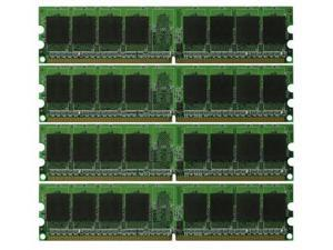 8GB KIT 4x2GB PC2-6400 DDR2-800 Dual Channel 240pin DIMM Desktop Memory