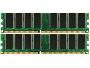 2GB KIT (2x1GB) PC3200 DDR400 400Mhz 184pin DIMM Desktop Memory High Density