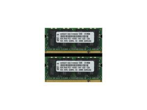 4GB (2X2GB) DDR2 MEMORY RAM PC2-4200 SODIMM 200-PIN