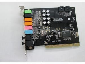 Enet PCI 8 Channel 8CH 7.1 Sound Card Optical  CMI8768 Chipset Work Windows 9X/2000/XP/Vista/7/8 Linux