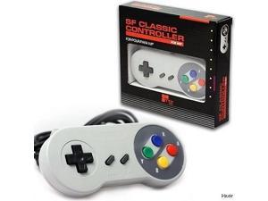 New Wii - Classic Controller Pad Famicom Style TTX Tech GREY (Super SNES)