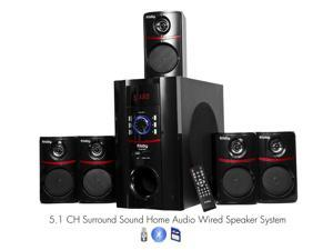 FS5010BT 800Watt Bluetooth 5.1 Home Theater Speaker System w/ USB SD
