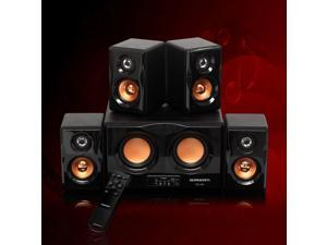 4.2 DUAL Subwoofer PC Laptop Notebook Computer Speakers System w/ USB SD