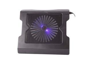 """New Laptop USB Cooling Cooler One Big Fan Stand for 15.4"""" Notebook PC with LED"""