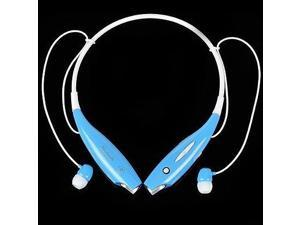 HV-803 Wireless Bluetooth Stereo Music Headset Universal Neckband for cellphones / Blue