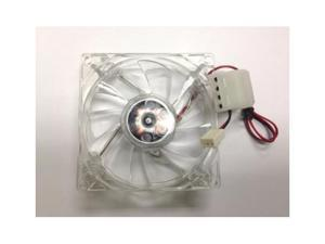 80mm 8cm Fan White LED for Intel AMD PC Computer Casing Case Cooling Cooler