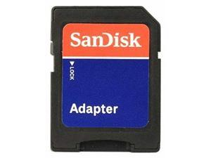 SanDisk MicroSD Micro SD to SD HC SDHC Memory Card Adapter Reader - NEW