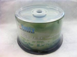 50-PK DVD+R DL Dual Double Layer Blank Disc in Cake Box