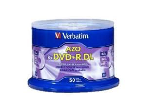 50PK DVD+R DL Dual Double Layer 8.5GB 8X Logo Disc 97000 with Cake Box