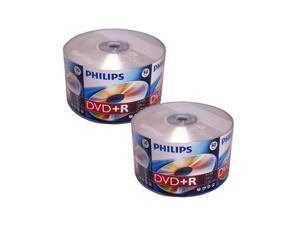 100 16X DVD+R Plus R DVDR Blank Disc Storage Media 4.7GB