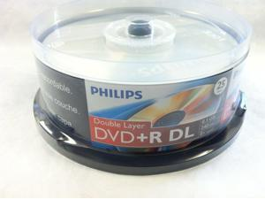 25 DVD+R DL Dual Double Layer 8.5GB 8X Disc
