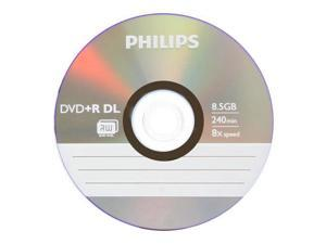 10 DVD+R DL Dual Double Layer 8.5GB 8X Disc