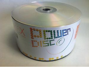 100-Pack 16X Logo Top DVD-R DVDR Blank Disc Media 4.7GB