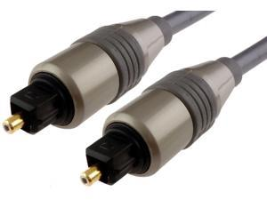 12FT PREMIUM TOSLINK DIGITAL OPTICAL AUDIO CABLE (S/PDIF) Optic Fiber Dolby DTS