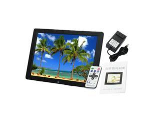 15 1280p led hd digital photo frame mp5 player support most video formats