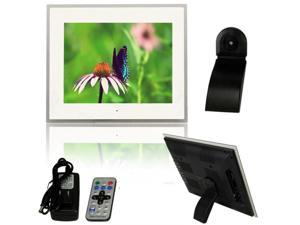 "Digital Photo Frame 15"" Inch LCD Picture Calendar Clock MP3 + Remote Control Ca"