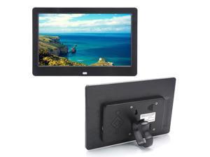 "10.1"" HD TFT Wide Screen 1024 x 600 Digital Photo Picture Mult-Media Frame Black"