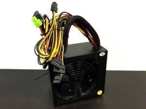 550W Power Supply ATX 12V for Intel AMD motherboard SATA PCI 24 Pin