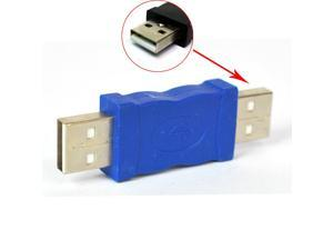 HQmade USB 2.0 Connector Gender Changer Adapter- Male To Male