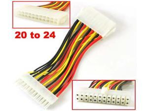 HQmade 20-pin to 24-pin ATX Internal Power Cable Interconnect for Motherboard Power Supply
