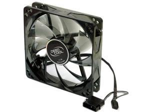 X-FAN 120W DC Cooling Fan for PC Case W LED Light Cooler Replacement