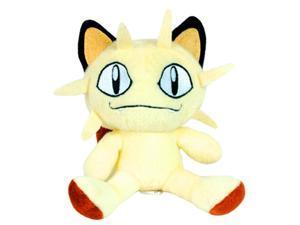 """Pokemon 5.5"""" Plush Toy - Meowth - Pocket Monster Pokedex #052"""
