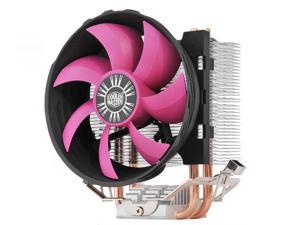 Cooler Master Shark 200 CPU Cooler - Dual Copper HeatPipes & Aluminum Fins Heatsink 90mm Silent Fan - For Intel LGA 775 1156 1155 1150 AMD Socket FM2 FM1 AM3+ AM3 AM2+ AM2