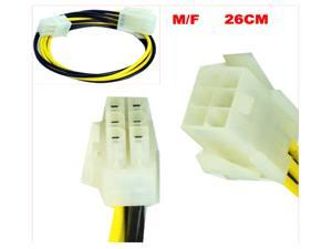 HQmade 6-Pin Power Supply Extension Cable Internal In-line For PCI Express Card
