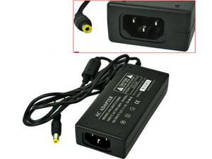 HQmade 12V 4A AC Wall Power Adapter Charger w/ 5.5mm Connector For LCD Power Supply