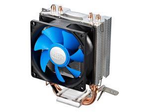 Deep Cool Frozen-Ice Mini Pro Universal CPU Cooler 80mm Quiet Cooling Fan Heatpipes Heatsink